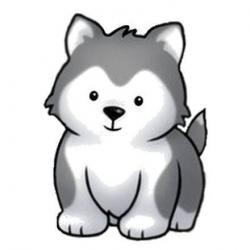 Chow Chow clipart husky