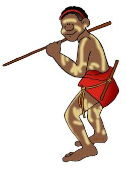 Aborigines clipart aboriginal man