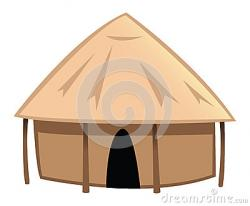 Hut clipart animated