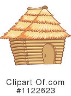 Hut clipart bamboo hut
