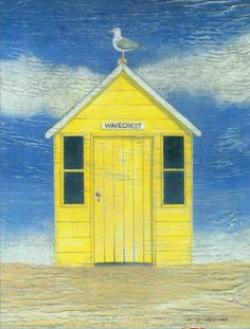 Hut clipart beach cottage