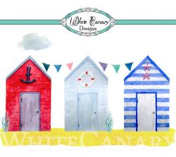 Hut clipart beach house