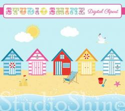 Seaside clipart beach background