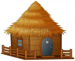 Hut clipart cartoon