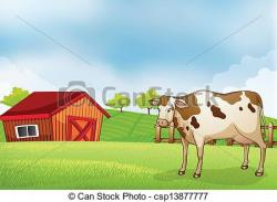 Hut clipart cow house