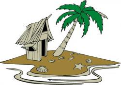 Hut clipart desert