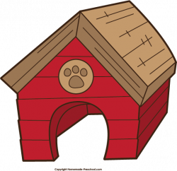 Hut clipart dog