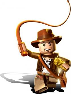Indiana Jones clipart lego character