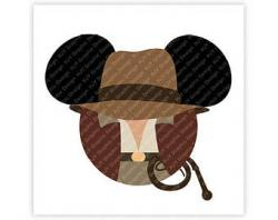 Indiana Jones clipart mickey