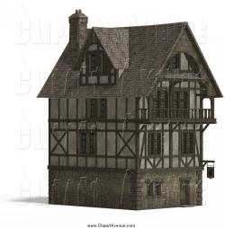 Inn clipart medieval house