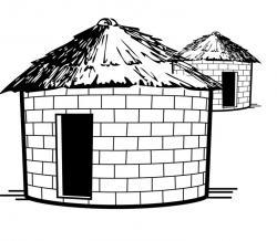 Ground clipart mud house