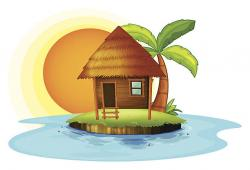 Hut clipart nipa hut