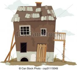 Hut clipart poor house
