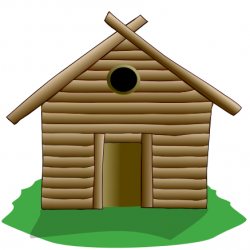 Hut clipart stick house