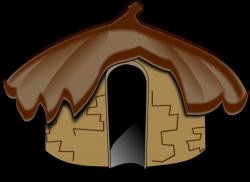 Hut clipart stone age