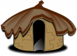 Hut clipart transparent