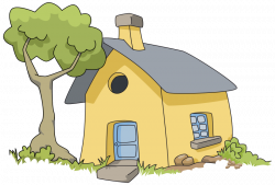 Hut clipart village home