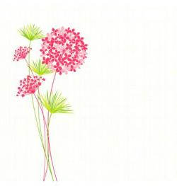 Dandelion clipart abstract flower