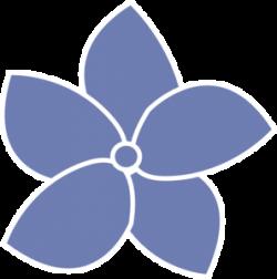 Hydrangea clipart vector