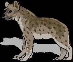 Jackal clipart hyena
