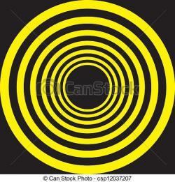 Hypnotic clipart circle