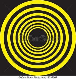 Hypnotic clipart circle