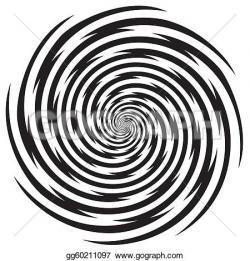 Hypnotic clipart spiral galaxy