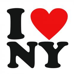 I Love New York Clipart