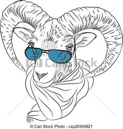 Ibex clipart funny