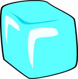 Ice Cube clipart ice block