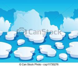 Glacier clipart arctic