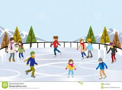 Arena clipart ice rink