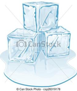 Ice Cube clipart pile