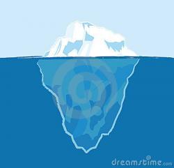 Titanic clipart iceberg