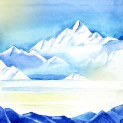 Iceberg clipart background