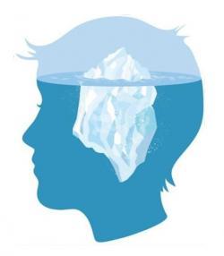 Iceberg clipart blank