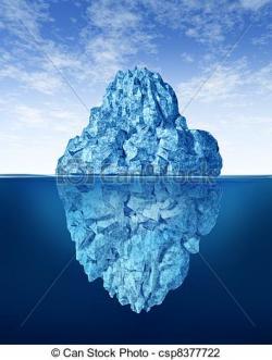 Iceberg clipart human