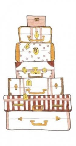 Travel clipart stacked