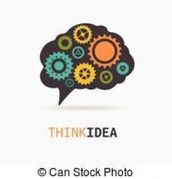 Idea clipart brain