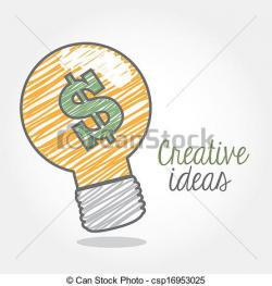 Idea clipart creative idea