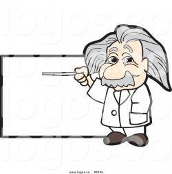 Scientist clipart einstein