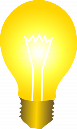 Mauve clipart lightbulb