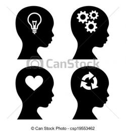 Idea clipart head