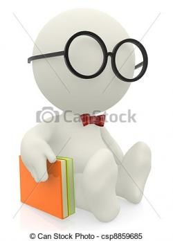 Imagination clipart intelligent person