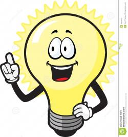 Here clipart bulb