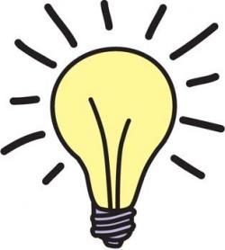 Idea clipart lightbulb moment