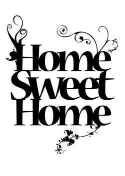 Place clipart home sweet home