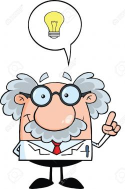 Idea clipart scientist