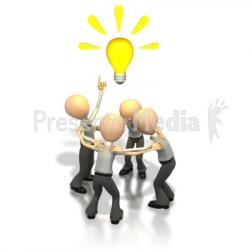 Idea clipart team brainstorming