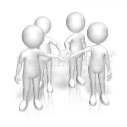 Idea clipart team huddle